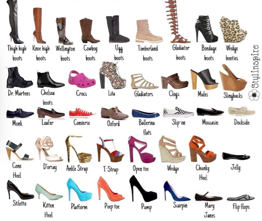 dictionary shoes image