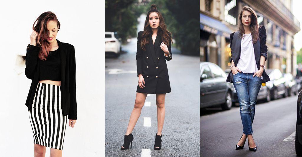 5 Ways To Wear Your Black Blazer